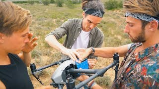 HOME-MADE 360 DRONE! - Live The Adventure Trip Day 7