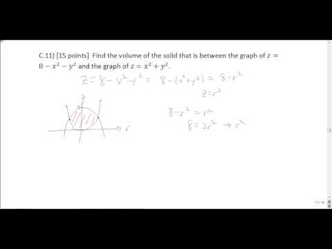 Multivariable Calculus Final Exam Review