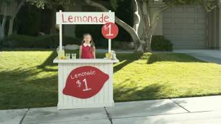 t mobile one commercial 2017 lemonade stand