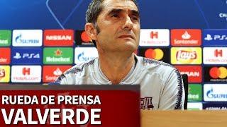Rueda de prensa de Valverde previa al Clásico | Diario AS