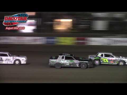 Dacotah Speedway WISSOTA Street Stock A-Main (8/16/19)