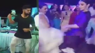 Repeat youtube video Virat Kohli And Anushka Sharma Dance At Yuvraj Singh's Wedding