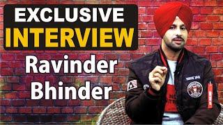 Ravinder Bhinder | Exclusive Interview | Punjabi Singer | DJ Waleya | JagBani TV