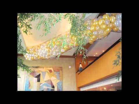 Decoracion con globos navidad y fin de a o animatic s www - Decoracion fin de ano ...