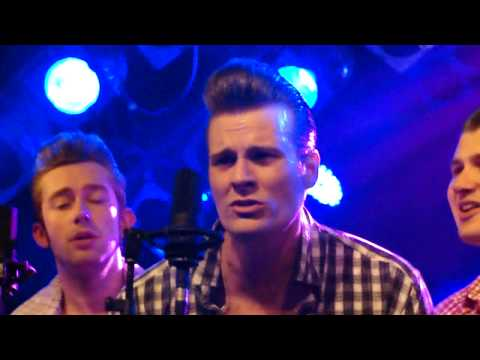 HD The Baseballs - Bleeding love @ KB Malmö Sweden