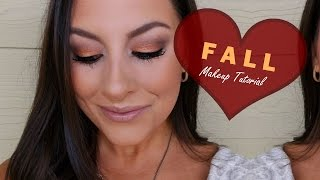 Fall Makeup Tutorial║Copper/Brown Smokey Eye