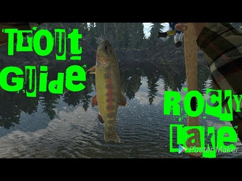 Rocky lake Trout Guide : FishingPlanet