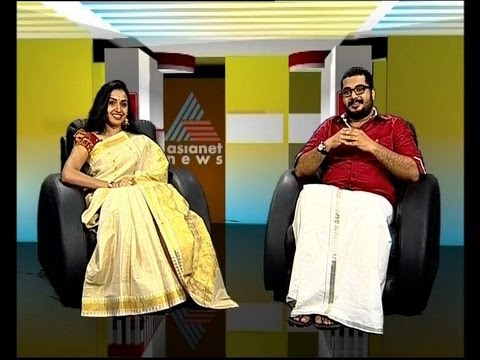 Vinu Mohan and Vidya , actors, mollywood: Onam special interview on Asianet News