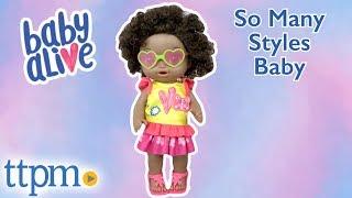 Baby Alive So Many Styles Baby from Hasbro