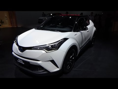 2019 Toyota C-HR Hybrid Graphic - exterior and Interior - Paris Auto Show 2018
