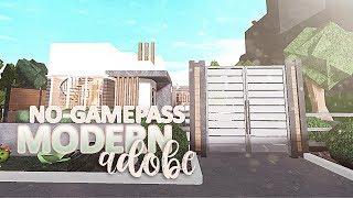 Modern Adobe | 2 STORY NO GAME-PASS | BLOXBURG