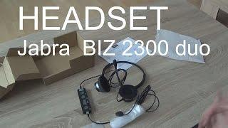 видео Jabra BIZ 1500 Mono USB Проводная гарнитура