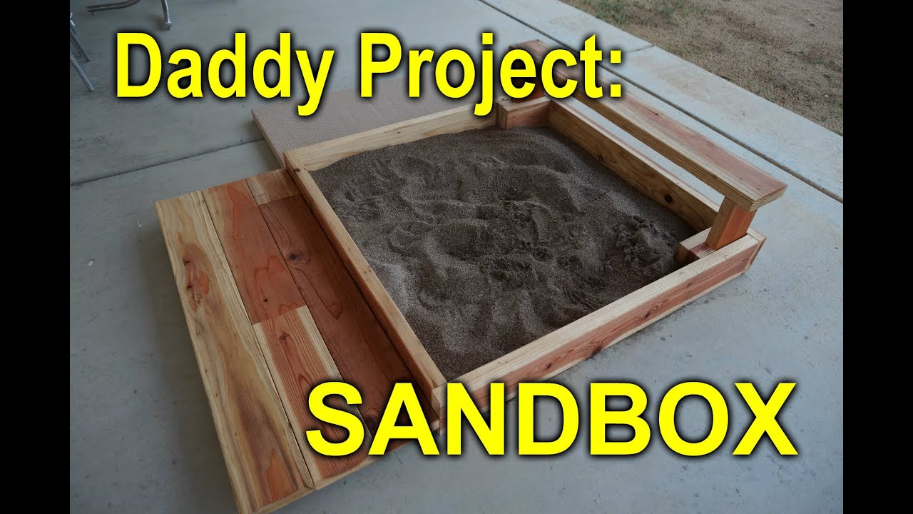 DIY Sandbox For My Daughter Out Of Cull Bin Wood YouTube