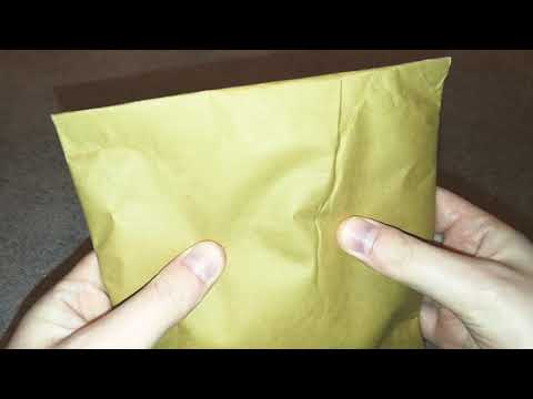 ASMR Crinkly Padded Package (best sounds ever) No Talking