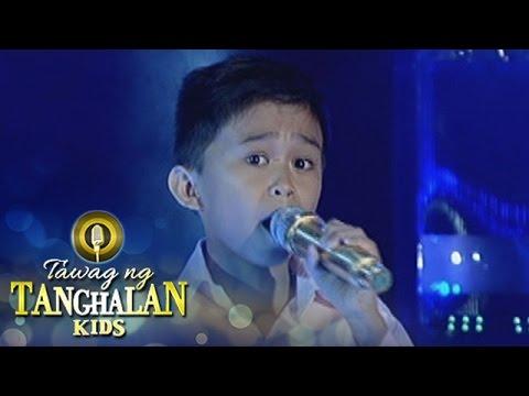 Tawag ng Tanghalan Kids: Mackie Empuerto | Stand Up For Love