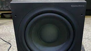 Siêu trầm B&W asw 610 bass 25 nhỏ mà có võ a /e ak 💪💪
