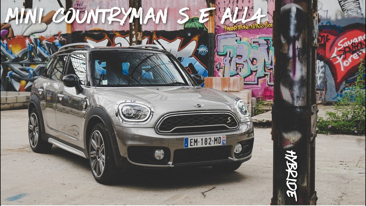 essai de la mini countryman s e all4 hybride youtube. Black Bedroom Furniture Sets. Home Design Ideas
