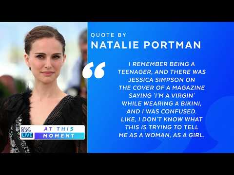 JESSICA SIMPSON FIRES BACK AT NATALIE PORTMAN'S COMMENTS ABOUT HER VIRGINITY