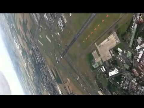 Cockpit View  C 130J Super Hercules at Paris Air Show 2011  VIDEO