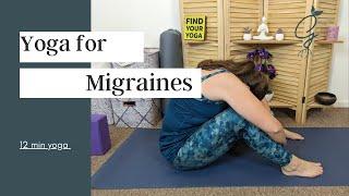10 min Gentle Yoga for Migraines
