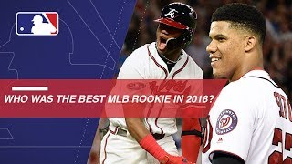 Who was the best MLB rookie in 2018?