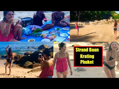 Strand baan Krating Phuket gute Zeit mit Freunden