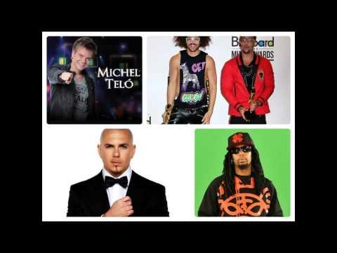 Lmfao & Pitbull Ft. Michel telo & Lil jon - Ai Se Eu Te Pego