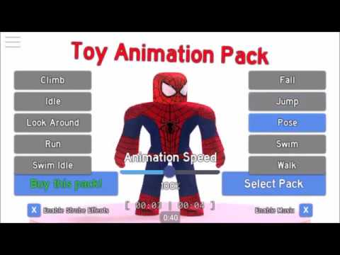 how to get free roblox animation packs