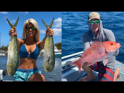 MAHI-MAHI & SNAPPER Catch Clean And Cook (The Best FISH Tacos You'll Ever Eat)