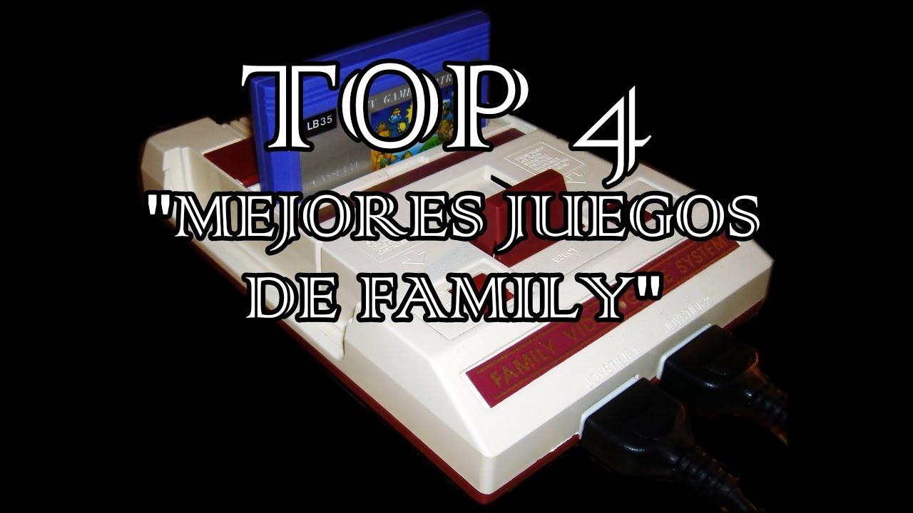 Los Mejores Juegos De Family Game Top 4 Gamers Youtube
