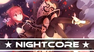 Nightcore - Black & White (Mondaiji Opening)
