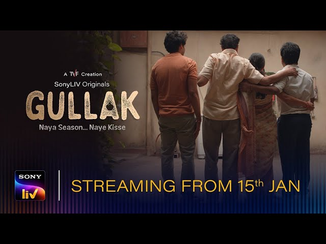 Gullak-Season 2 |  Streaming from 15th Jan | SonyLIV Originals | World Premiere Series