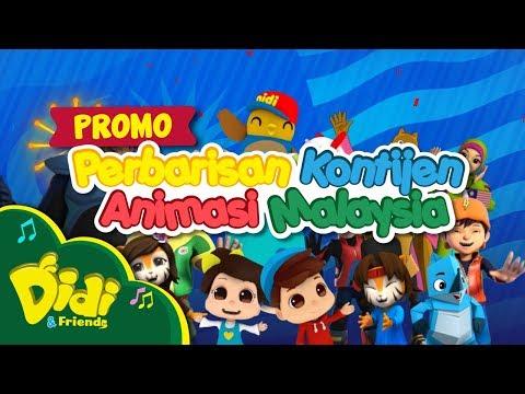 Promo Perbarisan Kontijen Animasi Malaysia | Hari Kebangsaan 2017 | Didi & Friends