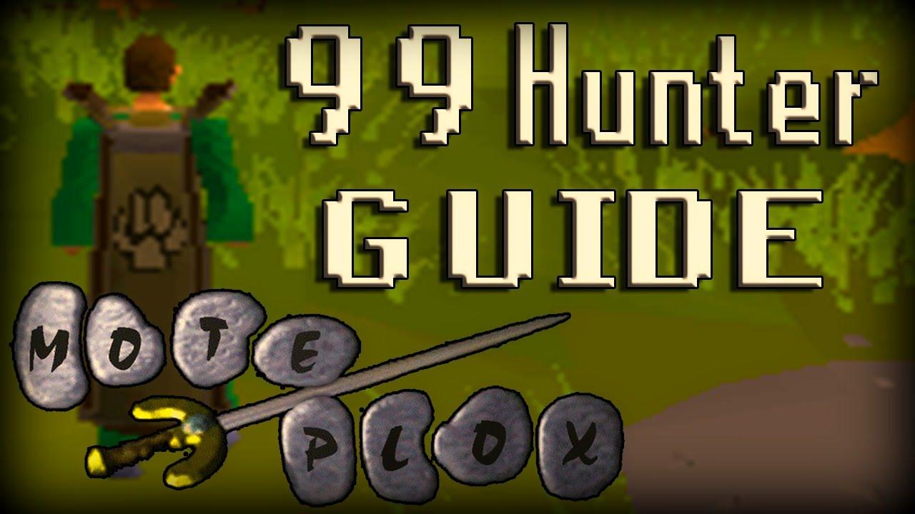 Oldschool RuneScape 99 Hunter Guide