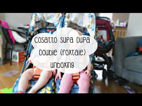 Cosatto Supa Dupa Double (Foxtale) Unboxing