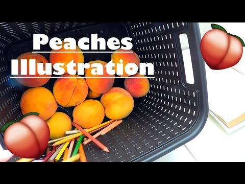 Peaches|| Fruit Girl Collection