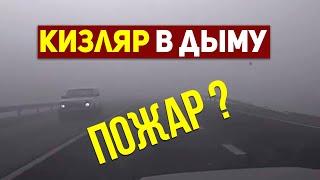 Жителей Кизляра напугал густой туман