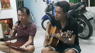 Áo cưới màu hoa cà - guitar Tuấn Phi, singer Đăng Minh