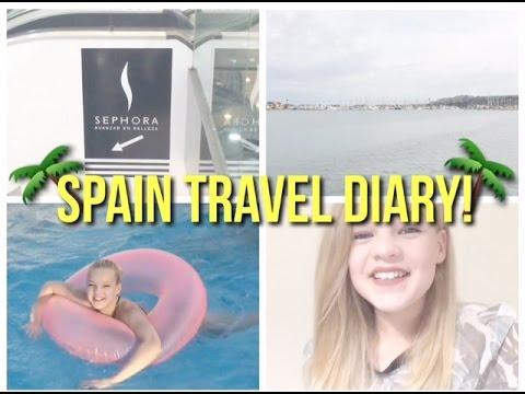 Spain Travel Diary//Vlog~lush leah