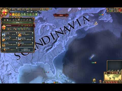 EU4 The United States of Scandinavia
