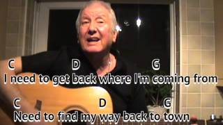 Where Are You Going To - original songs by YouTubers - Bob Tulip - on-screen chords and lyrics