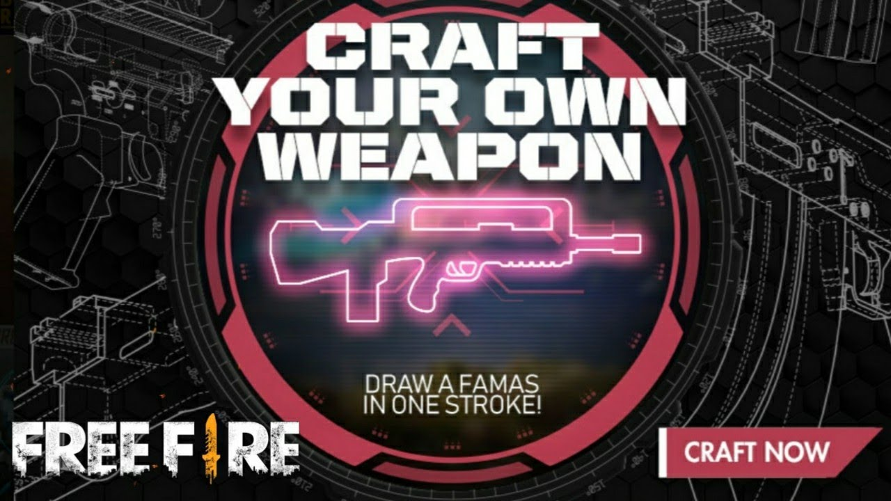 Free Fire New Events full review    Free Fire Famous gun