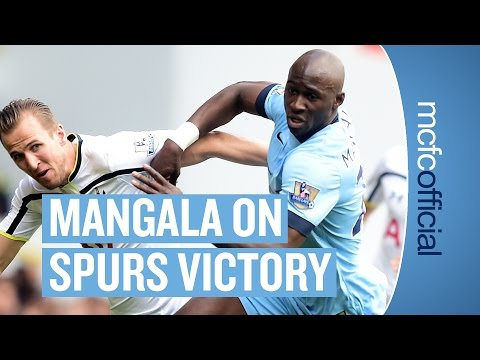 """CONFIDENT FOR NEXT SEASON"" Tottenham 0-1 City | Eliaquim Mangala Post Match Interview"