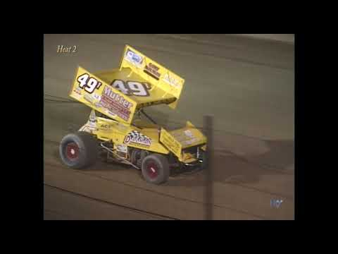 Full race from the SOD sprints Season Championship night at Hartford Speedway Park in MI September 13, 2003. SOD would use a twin-feature format, fully ... - dirt track racing video image