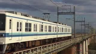 東武8000系8564F渡瀬~田島通過