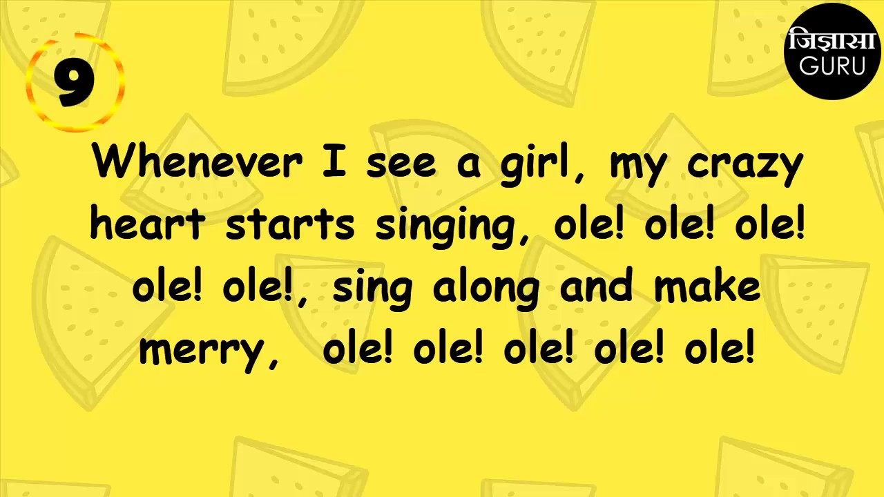 Fun Quiz Guess The Bollywood Songs From Their Hilarious English Translations Youtube Here's a translation of this beautiful rain song. fun quiz guess the bollywood songs from their hilarious english translations