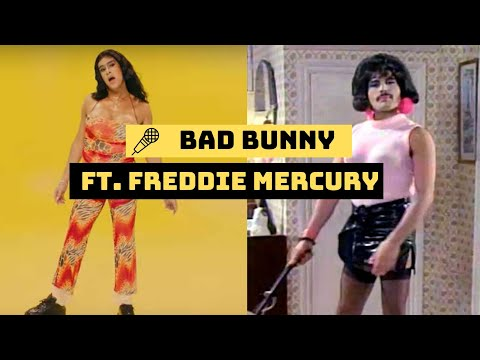 Yo Perreo Sola Remix - Bad Bunny vs. Freddie Mercury