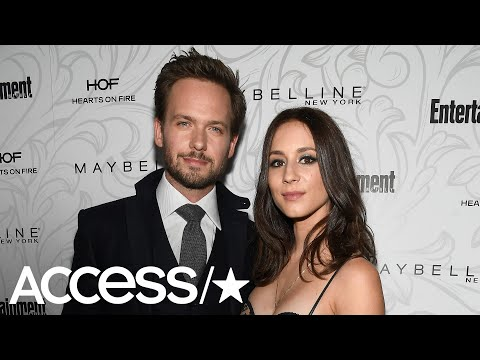 Troian Bellisario & Patrick J. Adams Welcome A Baby Girl