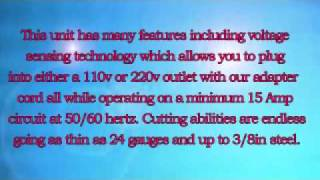 Eastwood Versa Cut Metal Cutting Plasma Cutter