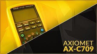 homepage tile video photo for Multimeter calibrator AXIOMET AX-C709